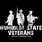 Flag and Humboldt State Veterans